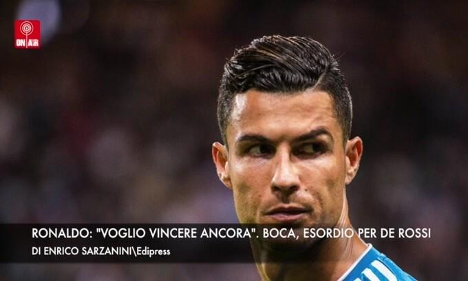 """Ronaldo: """"Voglio vincere ancora"""". Boca, De Rossi all'esordio"""