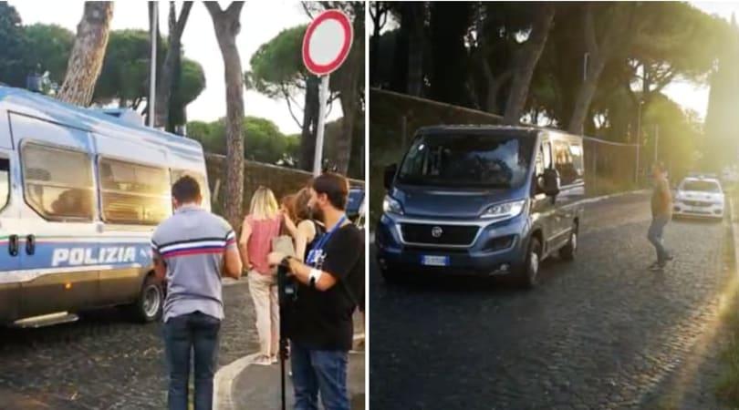 Lazio, saltati i funerali di Diabolik previsti per oggi