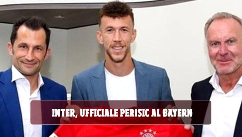 Inter, Perisic al Bayern: è ufficiale