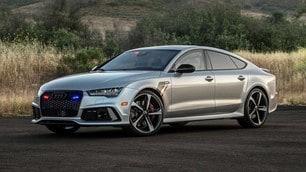 Audi RS 7 Sportback, le foto della blindata più veloce