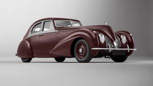 Bentley Corniche, ricostruita da zero la sportiva del '39: le immagini