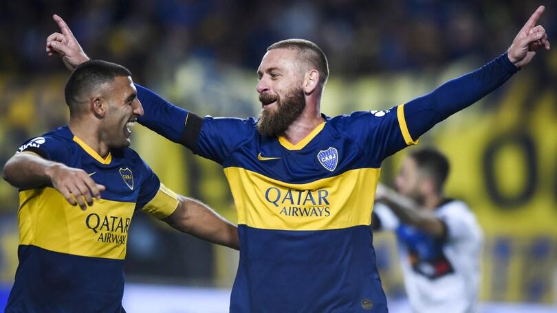 De Rossi subito in gol ma il Boca a sorpresa va ko