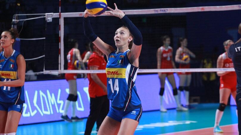 Elena Pietrini lascia il ritiro azzurro