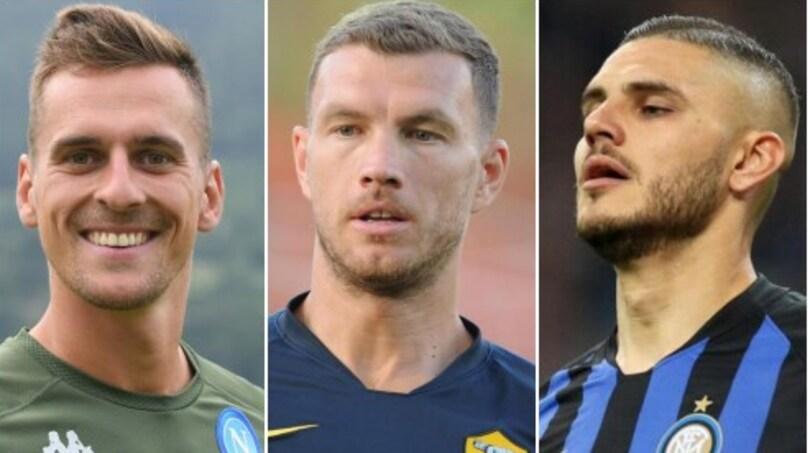 Icardi al Napoli, Milik alla Roma, Dzeko all'Inter: ecco come si farà