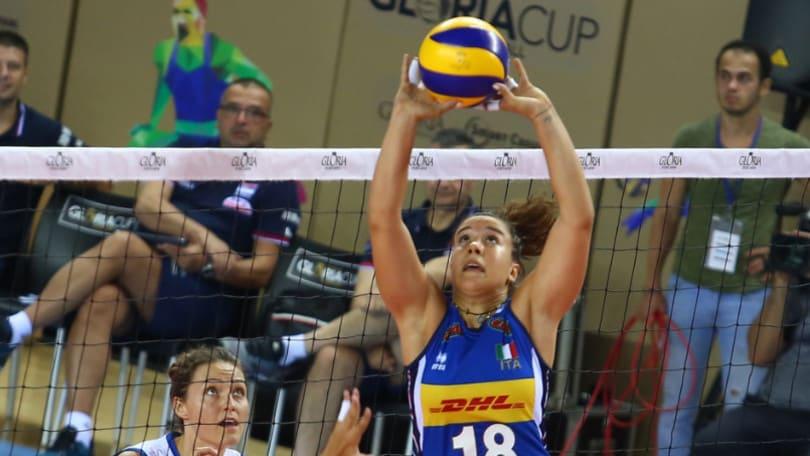 Gloria Cup: l'Italia cede alla Serbia