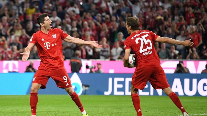Lewandowski salva il Bayern Monaco: finisce 2-2 contro l'Hertha Berlino
