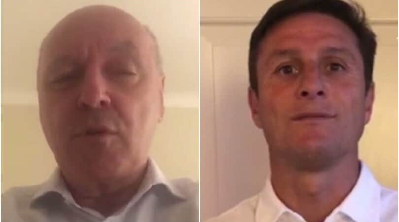 """Marotta e Zanetti: """"Sul campo come alla guida occorre essere lucidi"""""""