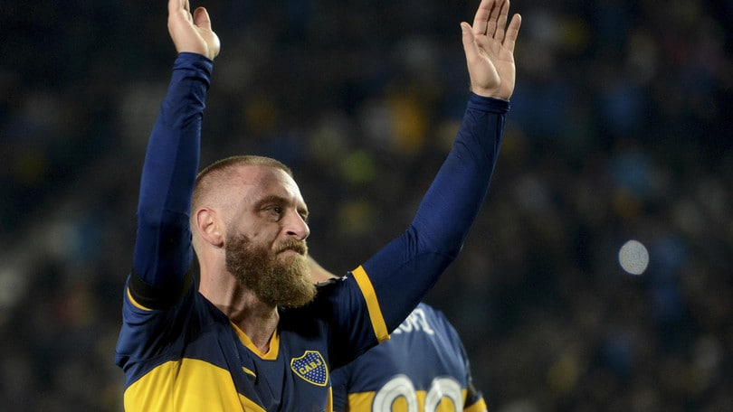 Boca, De Rossi prende la 7 in Copa Libertadores
