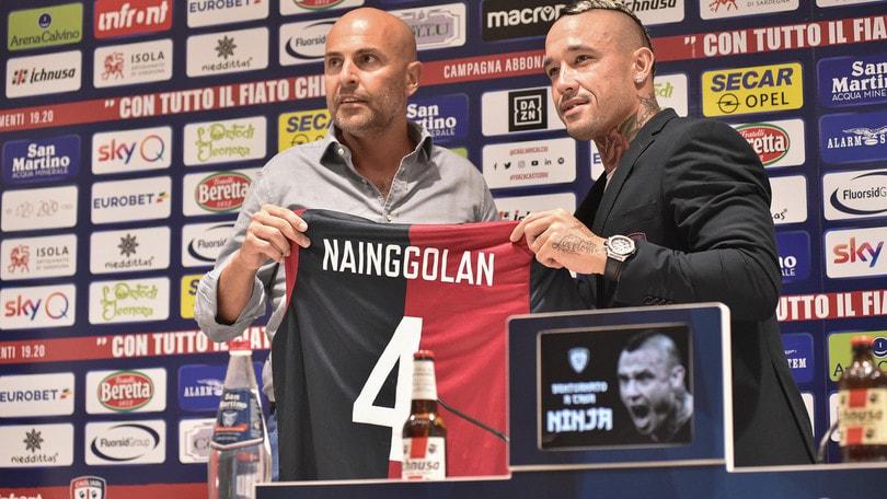 Cagliari, i nuovi numeri: Nainggolan si riprende il 4, il 18 va a Nandez