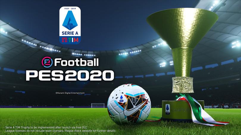 La Serie A sbarca su PES2020: annunciata la licenza ufficiale