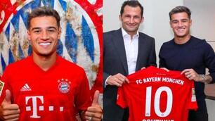 Bayern Monaco, ecco Coutinho: firma e maglia numero 10