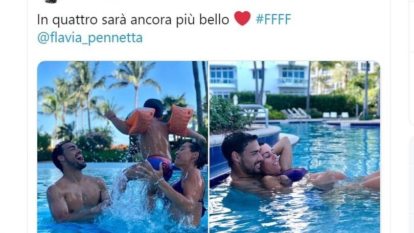 """Fognini-Pennetta, in arrivo il secondo figlio: """"In 4 sarà più bello"""""""
