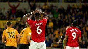 Pogba sbaglia un rigore. Lo United fermato dal Wolverhampton