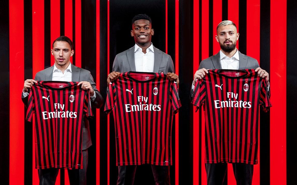Milan, ecco Bennacer, Leao e Duarte