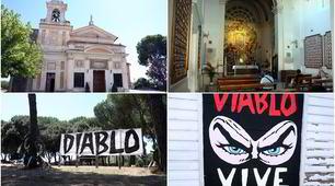 Funerali Diabolik, pronta la chiesa al Divino Amore