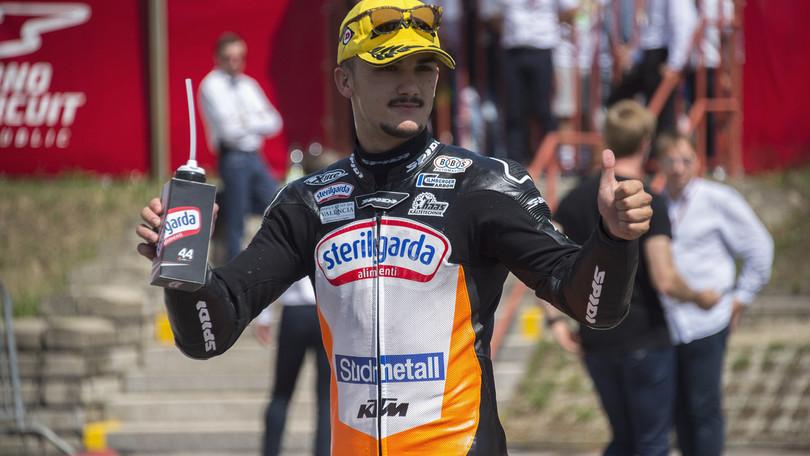 Moto2, Canet con il team Angel Nieto nel 2020