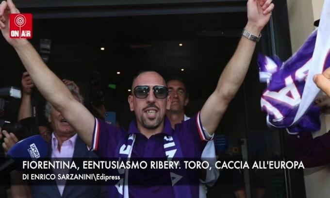 Fiorentina, entusiasmo Ribery. Toro, caccia all'Europa