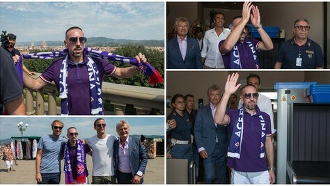 Ribery manda in estasi Firenze