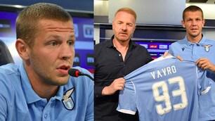 Lazio, ecco Vavro: presentazione e maglia numero 93