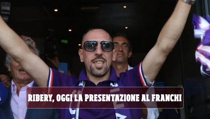"""Fiorentina, ufficiale l'acquisto di Ribery: """"Mi manda Toni"""""""