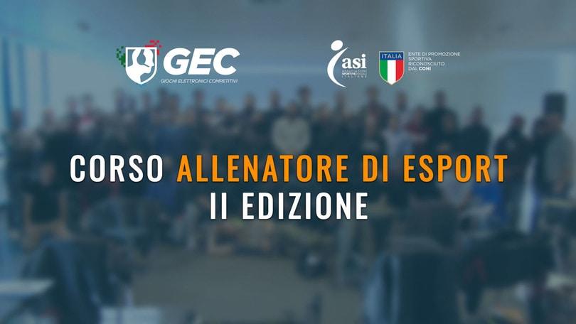 Esport: GEC presenta il corso per allenatori