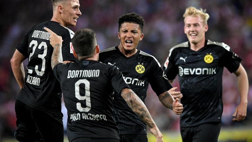 Borussia Dortmund, vittoria in rimonta a Colonia: primo a punteggio pieno