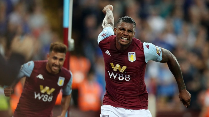 L'Aston Villa torna alla vittoria in Premier dopo 3 anni. Kean in campo mezz'ora