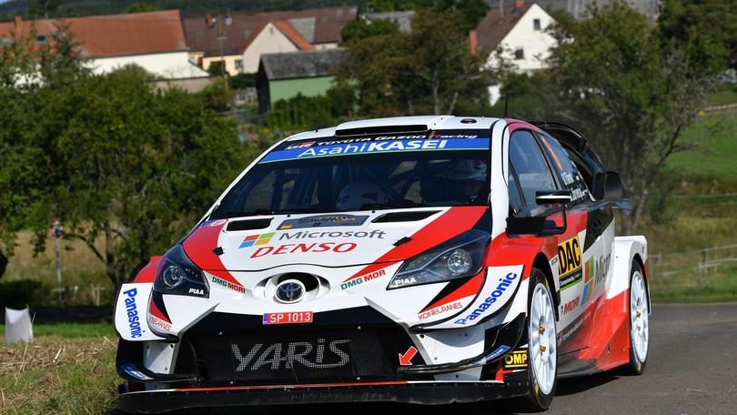 Rally, Germania: Tanak al comando dopo la prima giornata, Ogier terzo