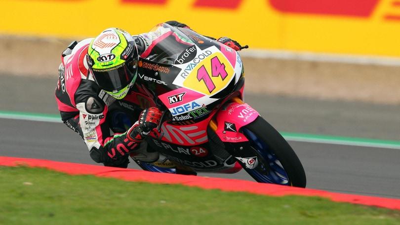 Moto3: Arbolino in pole a Silverstone