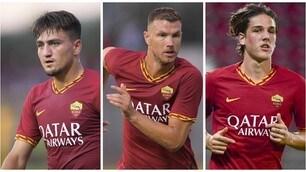 Roma, ecco la formazione in campo contro il Genoa