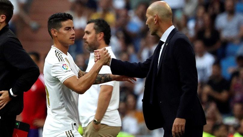 James Rodriguez non basta: per il Real Madrid è solo 1-1 con il Valladolid