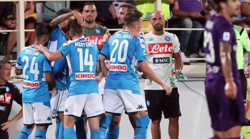 Fiorentina-Napoli 3-4: Ancelotti risponde alla Juve