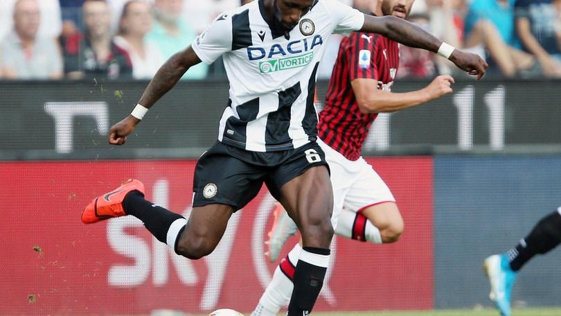 Udinese, Fofana torna e si allena in gruppo