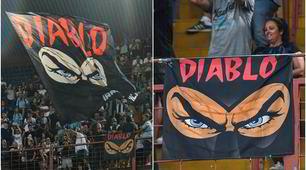 Diabolik, i tifosi della Lazio lo ricordano al Ferraris