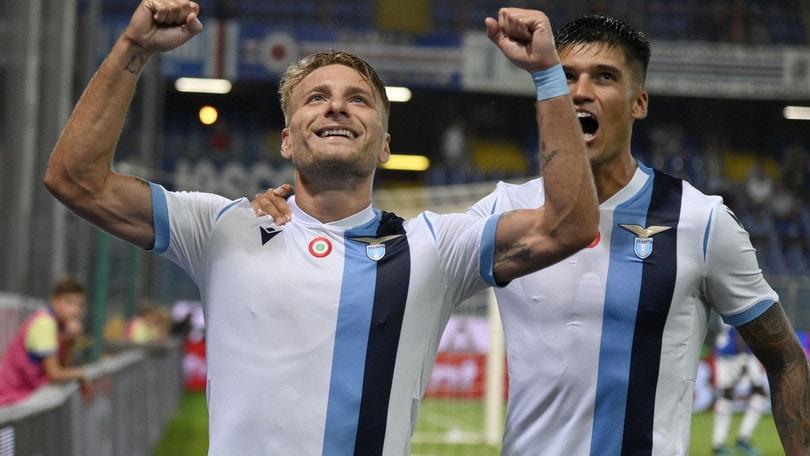 Sampdoria-Lazio 0-3, il tabellino