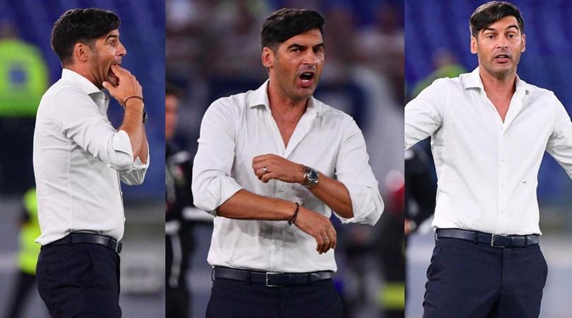 Roma-Genoa, Fonseca scatenato in panchina
