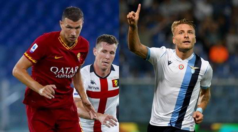 Roma-Genoa 3-3: i giallorossi si fanno rimontare tre volte. Lazio show, rimonta Atalanta