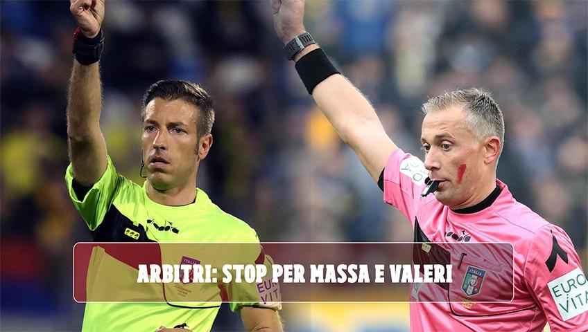 Moviola serie A, stop per Massa e Valeri dopo Fiorentina-Napoli