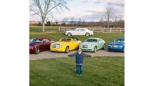 Rolls-Royce, modelli e colori firmati Michael Fux, gli scatti