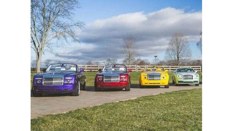 Michael Fux, il suo nome su dieci colori Rolls-Royce