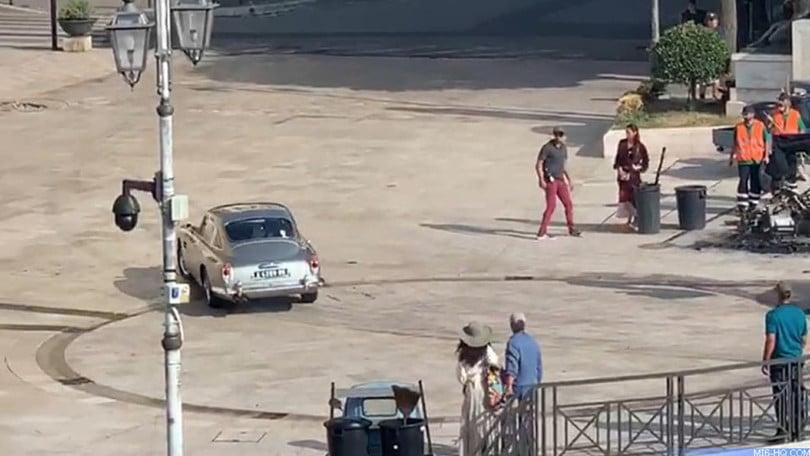 James Bond, la Aston Martin DB25 protagonista delle riprese a Matera