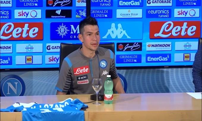 """Lozano: """"Napoli è stata la mia prima scelta"""""""