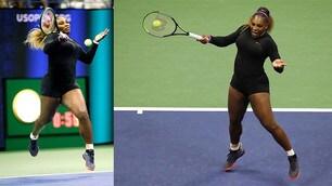 Williams mette ko Sharapova ma il look fa discutere