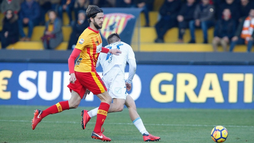 Reggiana, l'ex Benevento Costa firma un triennale