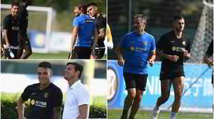 Inter, what an enthusiasm with Conte! Icardi in the field with the group