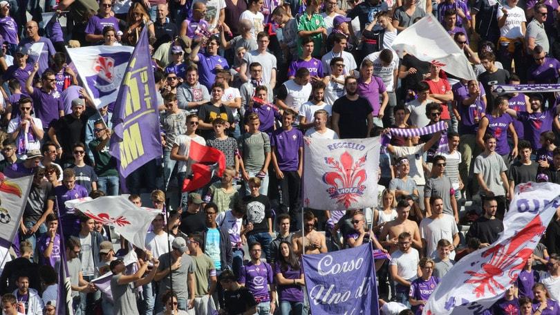 Serie A, Fiorentina multata per cori di matrice territoriale