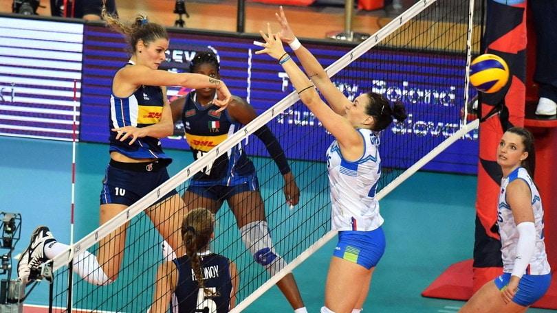 Europei Femminili: quarto successo azzurro, Slovenia domata
