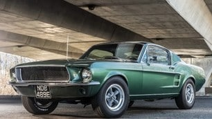 """Ford Mustang del film """"Bullitt"""" all'asta, gli scatti"""