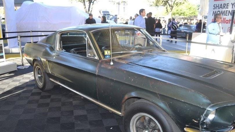 Ford, all'asta la Mustang di Steve McQueen in