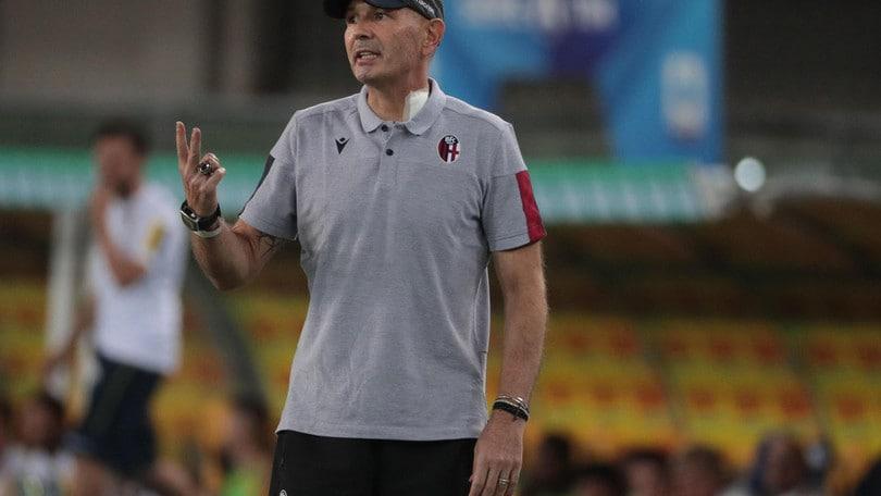 Mihajlovic ha diretto l'allenamento del Bologna